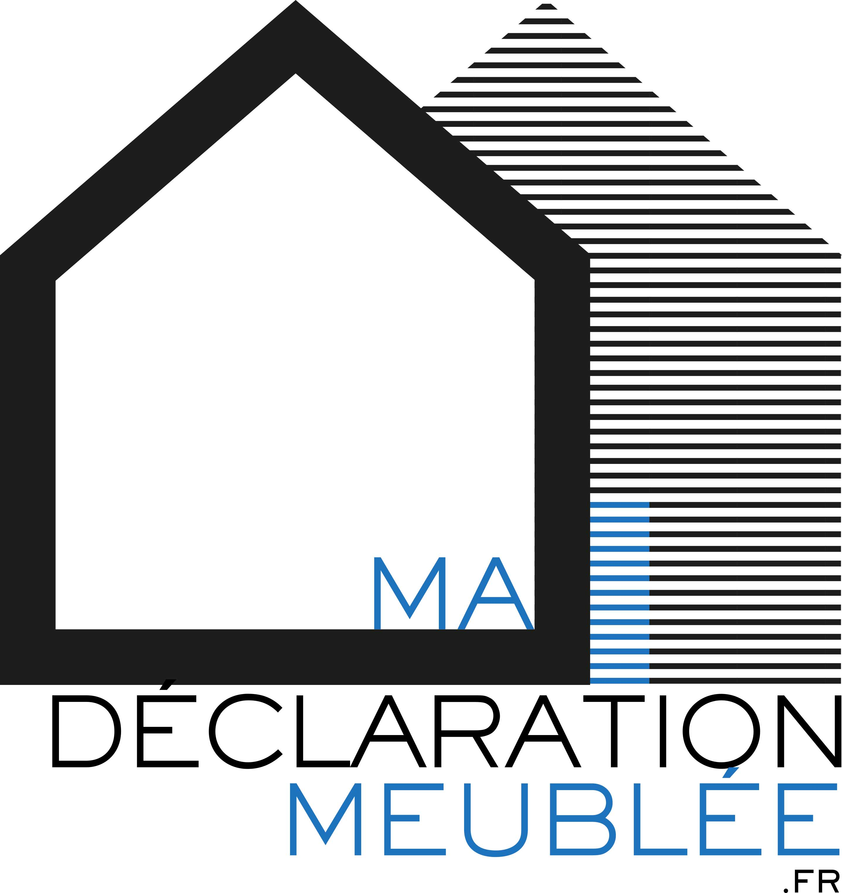 logo mdmeublee ma declaration meublee. Black Bedroom Furniture Sets. Home Design Ideas
